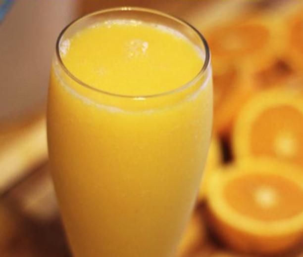 Orange Banana Mango Smoothie
