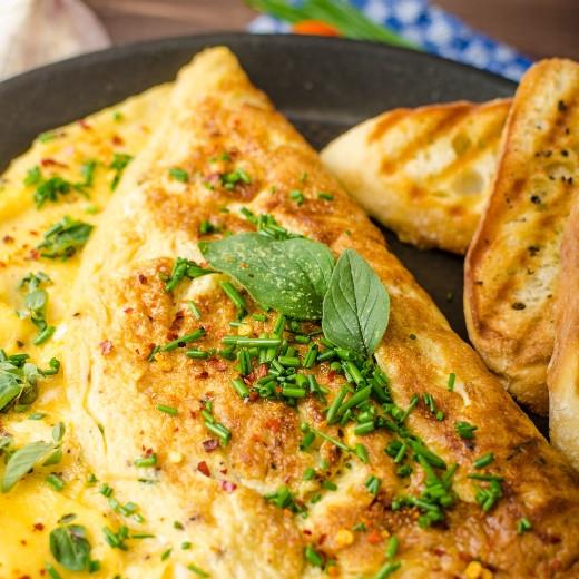 pHresh Greens Omelet