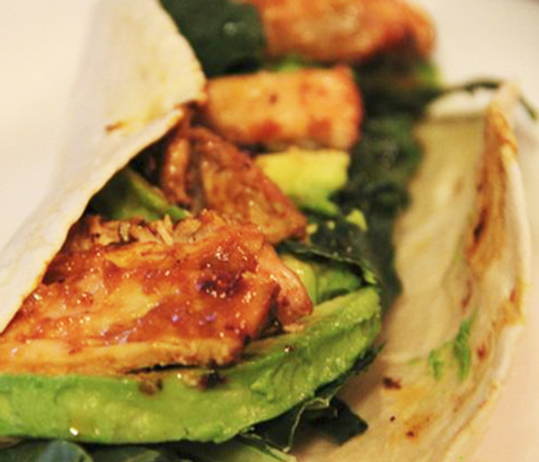 Sweet Cajun Chicken Wraps