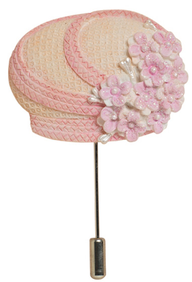 Sister Moore Hat Pin - Harriet Rosebud
