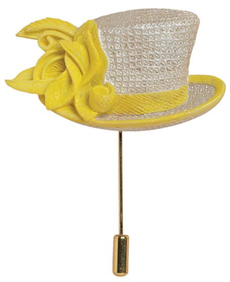 Sunny Day Hat Pin - Harriet Rosebud