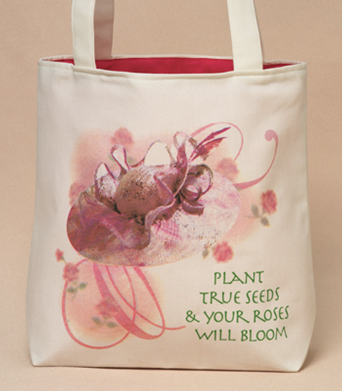 Rose Bloom Tote Bag (Large) - Harriet Rosebud