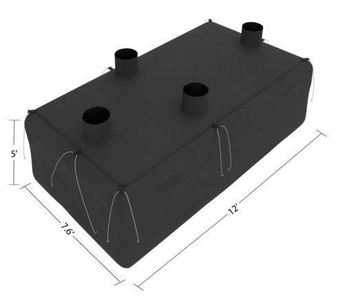 Insulation Vacuum Trailer Bag (2 BAGS)