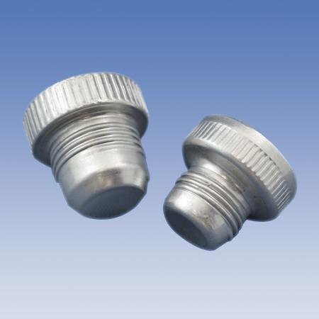Flared Fitting Threaded Aluminum Plugs ASP Series