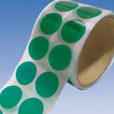 Green Polyester Masking Discs