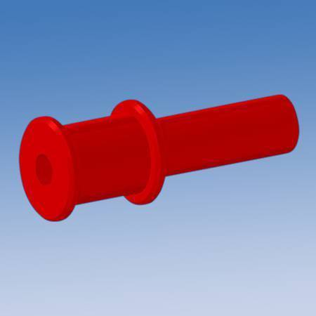 Silicone Dual Flange Pull Plugs DFP Series