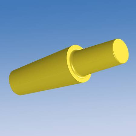Tapered Silicone Pull Tab Plug CSP-PT Series