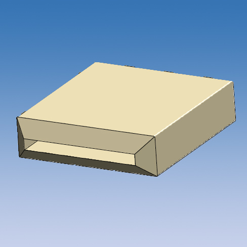Rectangular Grounding Caps SSQ-B Series