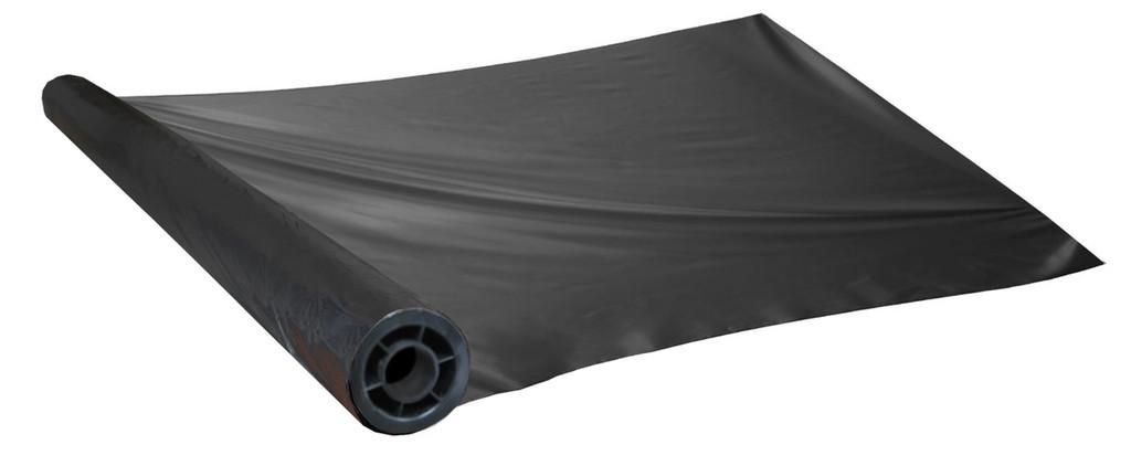 Black Plastic Mulch - 1.5 Mil