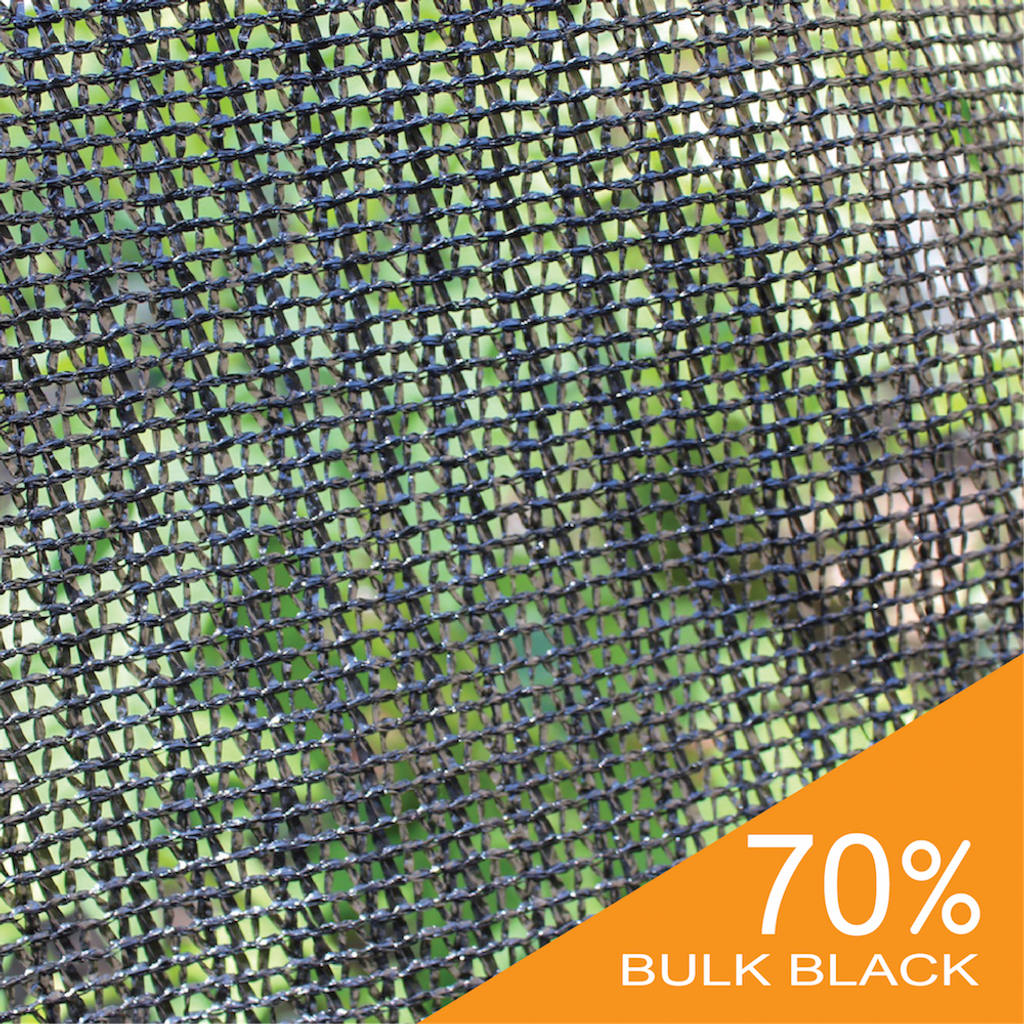 70% Black Bulk Shade Cloth