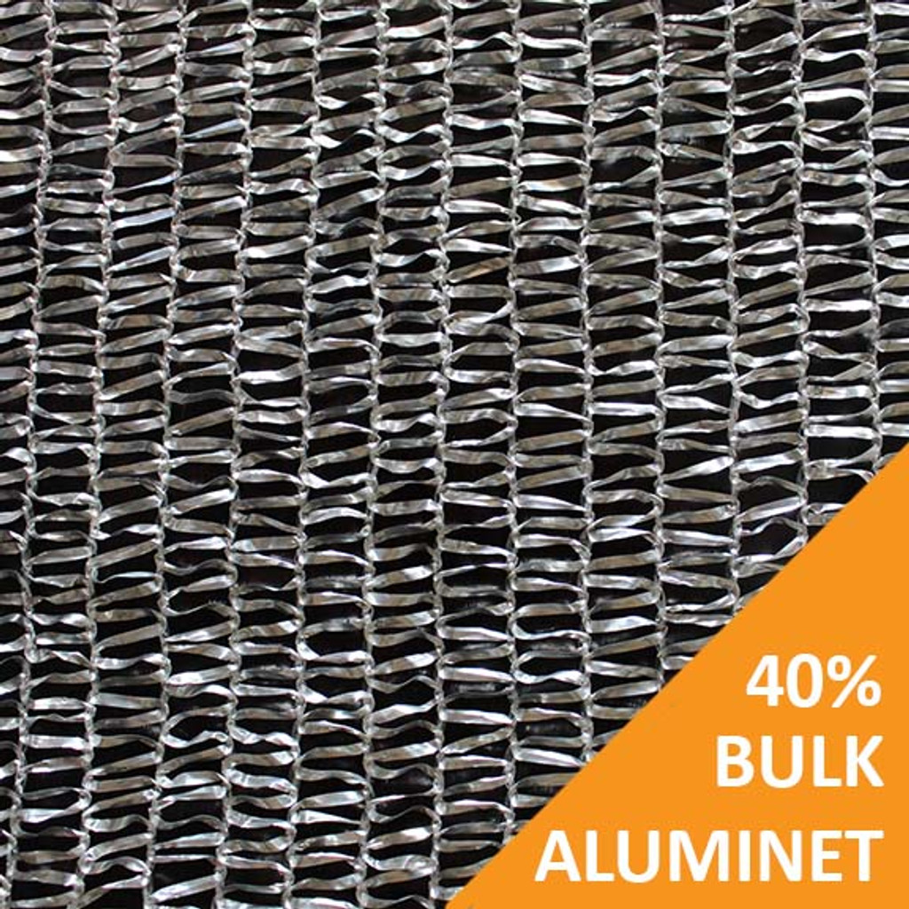 Shade Cloth - Aluminet Knitted - 40%