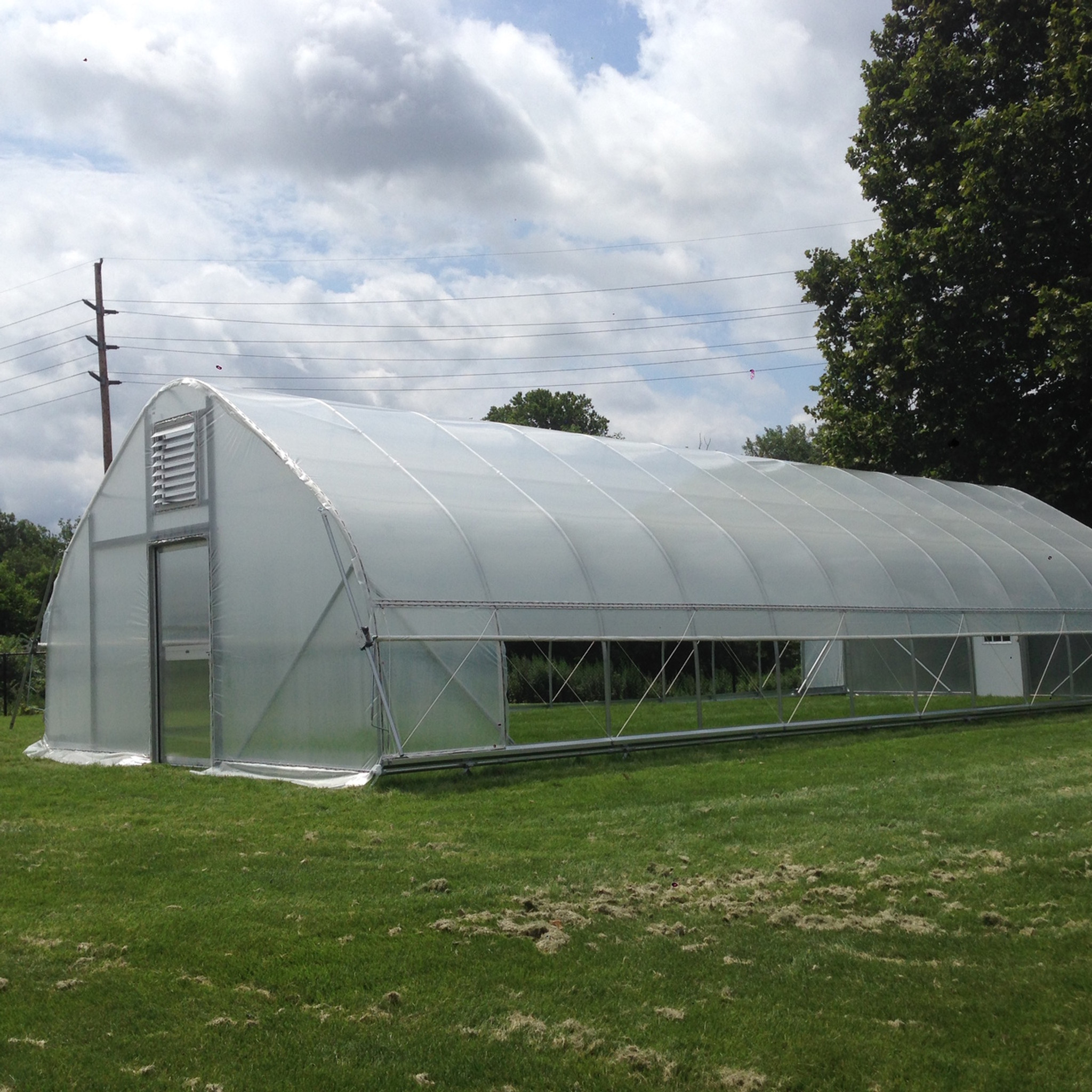 20 ft  wide High Tunnel DIY Kit