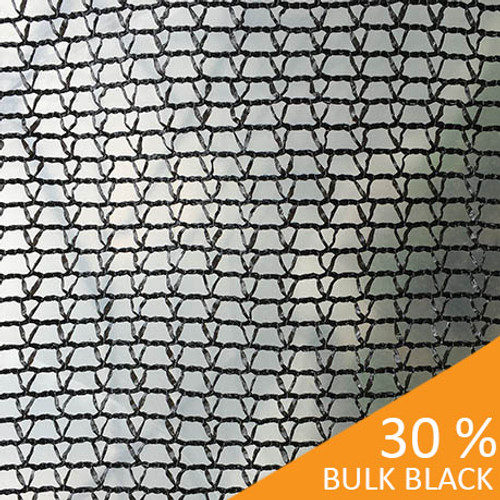 Shade Cloth - Black Knitted - 30%