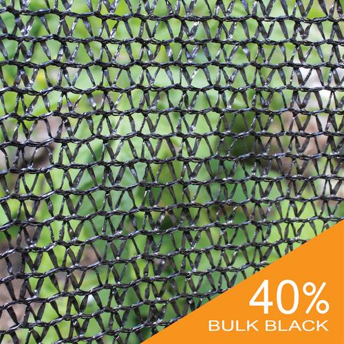 40% Black Bulk Shade Cloth
