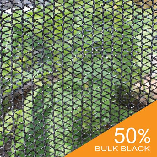 50% Black Bulk Shade Cloth