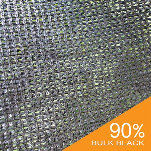 90% Black Bulk Shade Cloth