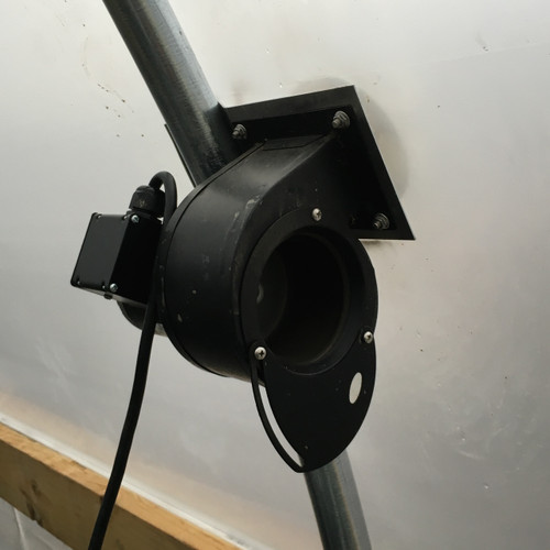 Greenhouse Inflation Blower Fans With Mount Brackets and Cords