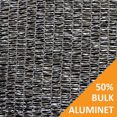 Shade Cloth - Aluminet Knitted - 50%