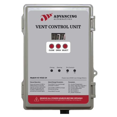 VCU2-24 Environmental Controller | Auto Roll-up Side Controller