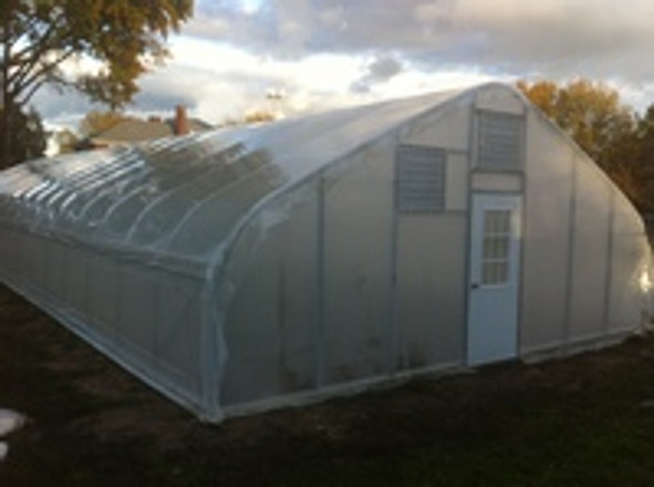 High Tunnels Go Up at Iron Roots Farm in Urban Youngstown Ohio