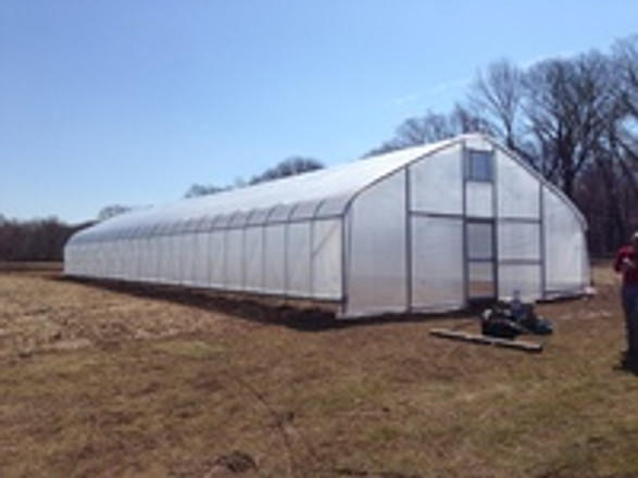 Innovative Hardening House Put Up at Great Road Farm in New Jersey