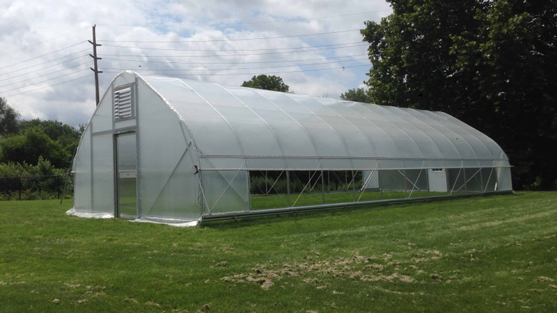 How to Build a Large Hoop House - Material Selection and Configuration