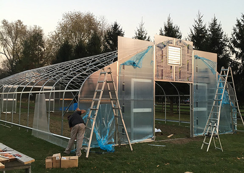 5 Ways to Insulate Your Greenhouse or High Tunnel and Protect Crops