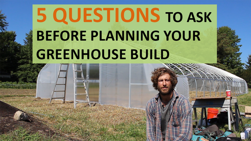 5 Questions to Ask Before Planning Your Greenhouse Build