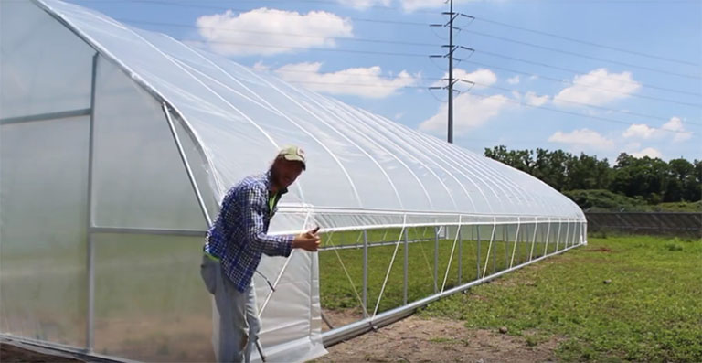 Greenhouse Roll Up Sides Benefits Hardware Installation Tunnel Vision Hoops Llc