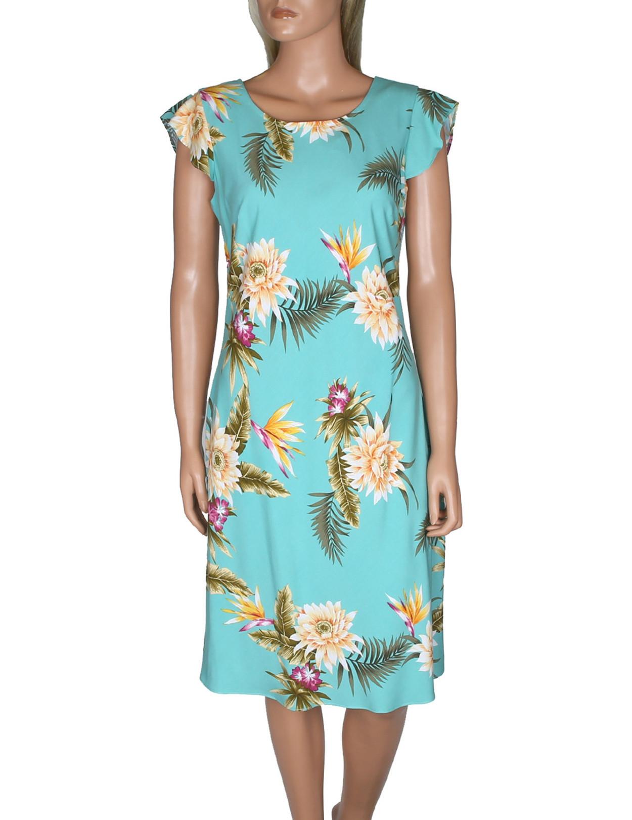 Hawaiian Dresses Plus Size - raveitsafe