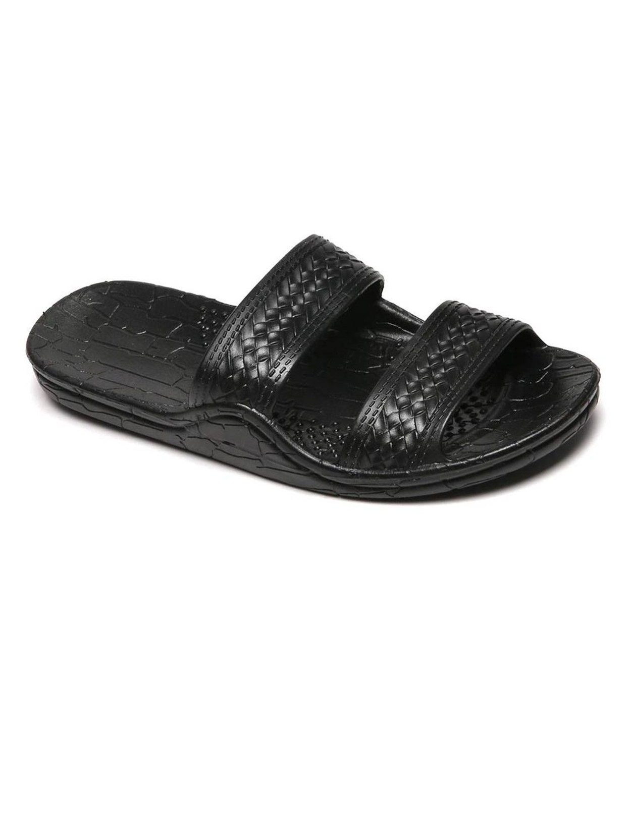 2ad450b509f1 Jesus Sandals - Wide Comfort Fit Black Classic Jandals Unisex - Men and  Women Sizes Wider