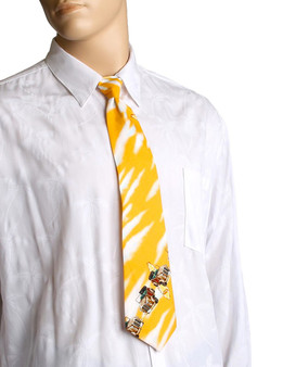 Tropical Aloha Necktie Beach Woody Cars
