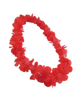 Red Silk Flower Lei - Fun Party Durable - Long-lasting Silk Unscented - Hypoallergenic Color: Red Length: 40 Inches Circumference Imported Do you need flower accessories for your big event? Ask about quantity discounts.