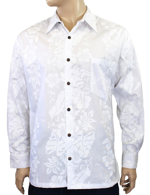 eaa4f1e2 Men's Long Sleeve Shirts | Hawaiian Wedding Place