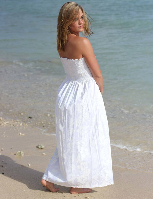 Casual Wedding Dress Hawaii Beach