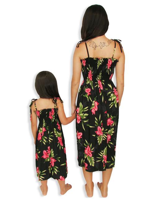 70968a0fff4 ... Okalani Mid-length Tube Top Rayon Dresses 100% Rayon Color  Black  Length
