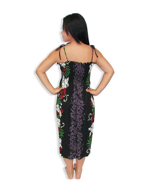 414c90fd58d Lokelani Mid-length Tube Top Rayon Smocked Dress - Hawaiian Wedding ...
