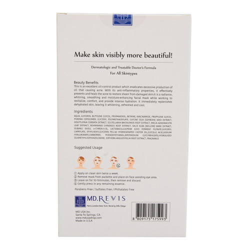 Blemish Clearing Mask 5 piece in box