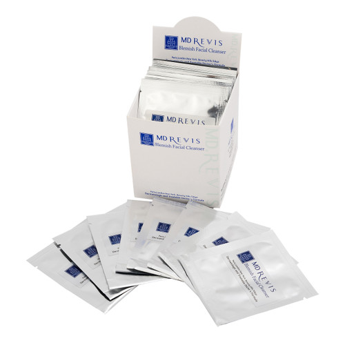 Blemish Facial Cleanser 30 Pack in box