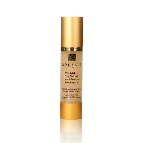 24K GOLD  Pure Natural Multi-Solution  Sleeping Mask