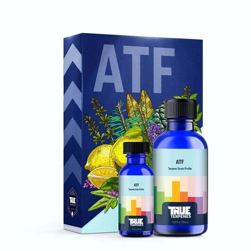 ATF is an earthy, sweet, pungent strain. A sativa-dominant strain, ATF is described as, giving a euphoric and soothing high with a strong enhancement of appetite. Its has strong scents of pine, lemon, menthol, and skunk. Its is described as having uplifting and creative effects. Scent/Taste: Incredibly strong odors of pine, lemon, menthol, and skunk. Feels Like: Happy-Euphoric-Uplifted-Energetic-Creative Suggested Uses: Stress-Anxiety-Depression-Pain-Fatigue Tinctures 750mg - 1000mg - 1500mg - 3000mg Cartridges 500mg Delta 8 900mg Cartridge Hoss E-Blunt CBD / Delta 8 1:1 Ratio 800mg