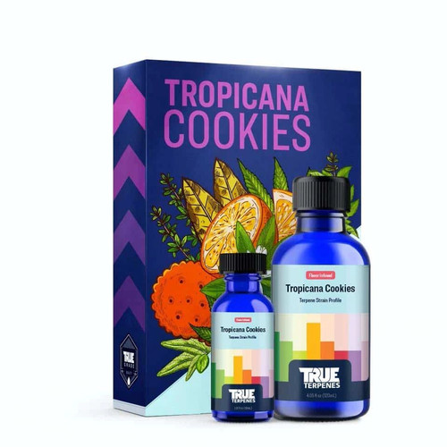 Tropicana Cookies Infused Strain Profile takes the uplifting and euphoric Tangie and GSC strains and boosts the good vibes with tropical cookie sweetness. Full Flavor. Full Effect. Scent/Taste: Tropical and sweet Feels Like: Happy-Uplifted-Energetic-Euphoric-Relaxed Suggested Uses: Stress-Anxiety-Depression-Pain-Fatigue Available In: Tinctures 750mg 1000mg 1500mg 3000mg Cartridges 500mg Cartridges 500mg Delta 8 900mg Cartridge Hoss E-Blunt Cbd /Delta 8 Hoss 1:1 Ratio 800mg