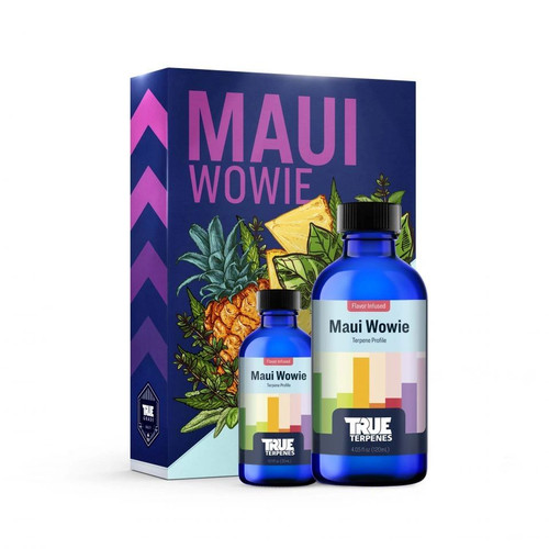 Maui Wowie is inspired by the tropical paradise it takes its name from. This cultivar was originally bred in Hawaii where pineapples also call home. Hints of mango, pine & pepper add complexity. Scent/Taste: Heavy pineapple & mango base with notes of pine and pepper Feels Like: Happy--Uplifted-Euphoric-Energetic-Creative Suggested Uses: Stress-Anxiety-Depression-Pain-Fatigue Available In: Tinctures 750mg 1000mg 1500mg 3000mg Cartridges 500mg Delta 8 900mg Cartridge Hoss E-Blunt 1:1 Delta 8 / CBD 800mg