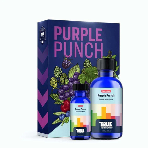 Purple Punch is a rare variety of old school Larry OG w/the famous Granddaddy Purple. This profile brings a super fruity nose, reminiscent of drinking a cherry, blueberry or grape drink as a kid. Scent/Taste: A base of cherry, blueberry and grape with vanilla citrus notes  Feels Like: Relaxed-Happy-Euphoric-Sleepy-Uplifted  Suggested Uses: Anxiety-Stress-Pain-Insomnia-Depression  Tinctures  750mg - 1000mg - 1500mg - 3000mg Cartridges 500mg Delta 8 / CBD 1:1 Ratio 800mg Delta 8 900mg Cartridge