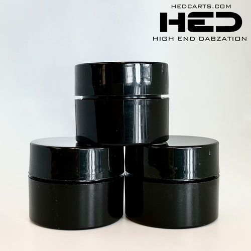 1g plastic concentrate jar for extracts