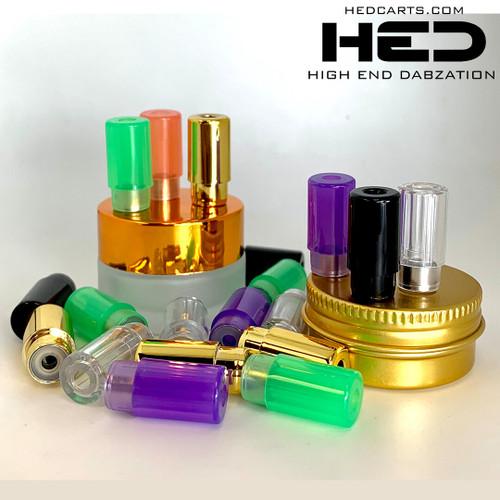 high end dabzation pressurized tips for ceramic cartridges