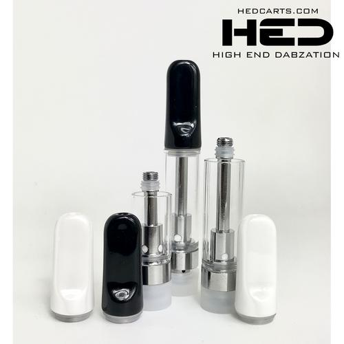 High End Dabzation 1mL Glass Ceramic Twist Off Cartridge
