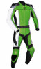 Leather Racing Suit style MS781 green WWW.LEATHER-SHOP.BIZ pic