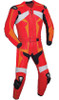 Leather racing suit custom made - style MS26888 WWW.LEATHER-SHOP.BIZ red front pic
