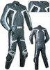 Leather racing suit custom made - style MS2061 WWW.LEATHER-SHOP.BIZ  front + back  pic